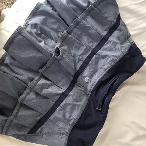 Lululemon running skirt